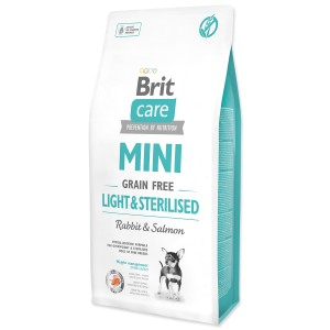 KARMA DLA PSA BRIT CARE GRAIN FREE MINI LIGHT & STERILISED 2kg