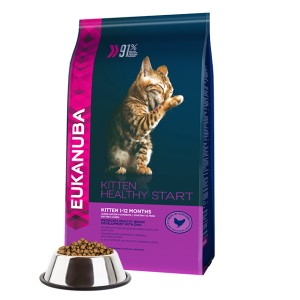 EUKANUBA KITTEN HEALTHY START CHICKEN 10kg