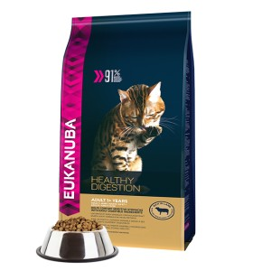 EUKANUBA CAT HEALTHY DIGESTION LAMB 400g