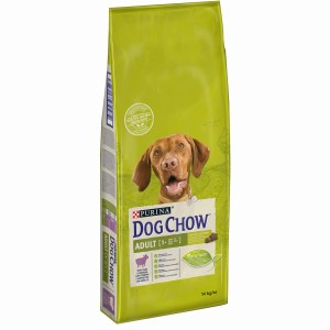 PURINA DOG CHOW ADULT JAGNIĘCINA 14kg