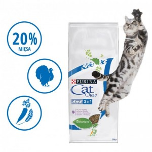 PURINA CAT CHOW SPECIAL CARE 3w1 400g