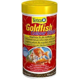 TETRA GOLDFISH ANIMIN COLOUR STICKS 250ML