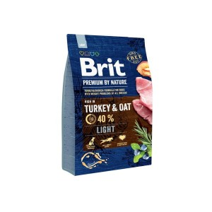 KARMA DLA PSA BRIT PREMIUM BY NATURE LIGHT 3kg