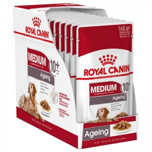 ROYAL WET. CANINE MEDIUM AGEING +10 sasze 10x140g