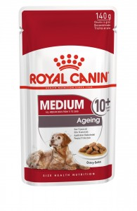ROYAL WET. CANINE MEDIUM AGEING +10 saszetka 140g