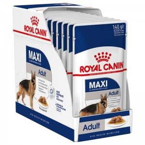 ROYAL WET. CANINE MAXI ADULT saszetka 10x140g