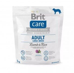 BRIT CARE ADULT LARGE BREED LAMB 1kg