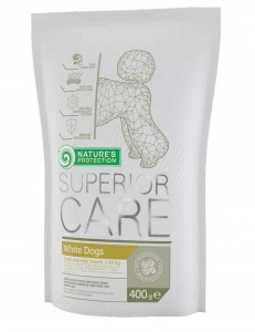 NATURES PROTECTION SUPERIOR CARE WHITE DOGS ADULT 400g