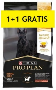PURINA PROPLAN NATURE DERMA CARE ADULT SMALL & MINI 700g+700g