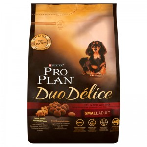 PURINA PROPLAN Duo Delice SMALL WOŁOWINA 2,5kg