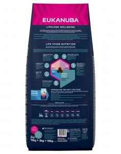 EUKANUBA ADULT MEDIUM BREED KURCZAK 15kg + 3kg
