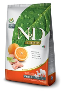 N&D PRIME FISH & ORANGE ADULT MEDIUM 800g