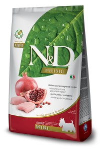N&D PRIME CHICKEN & POMEGRANATE ADULT MINI 800g