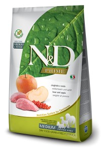 N&D PRIME BOAR & APPLE ADULT MEDIUM & MAXI 800g