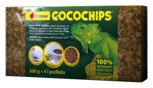TROPICAL WŁÓKNO COCOCHIPS DO TERRARIUM 500g