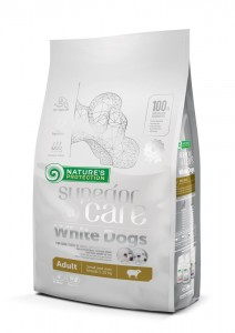 NATURES PROTECTION SUPERIOR CARE WHITE DOGS ADULT 4kg
