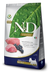 N&D PRIME LAMB & BLUEBERRY ADULT MINI 2,5kg