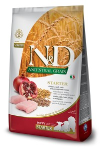 N&D LOW GRAIN CHICKEN & POMEGRANATE STARTER PUPPY 800g