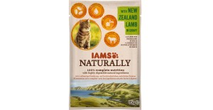 IAMS NATURALLY ADULT JAGNIĘCINA SOS 85g