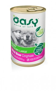 OASY ONE PROTEIN DOG ADULT DZICZYZNA 400g