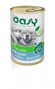 OASY ONE PROTEIN DOG ADULT JAGNIĘCINA 400g