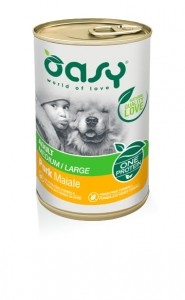 OASY ONE PROTEIN DOG ADULT WIEPRZOWINA 400g