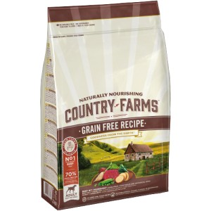 COUNTRY FARMS GRAIN FREE ADULT WOŁOWINA 2,5kg