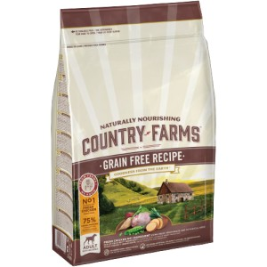 COUNTRY FARMS GRAIN FREE ADULT KURCZAK 11kg