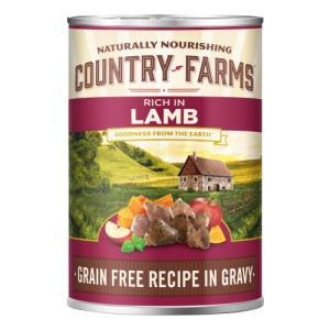COUNTRY FARMS GRAIN FREE ADULT JAGNIĘCINA 400g