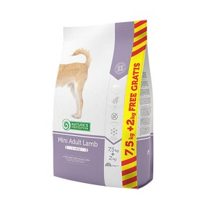 NATURE'S PROTECTION MINI ADULT LAMB 7,5kg + 2kg GRATIS